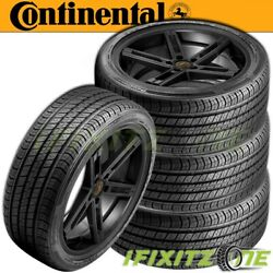 4 Continental Procontact Rx All-season A/s Touring 245/40r19 94w Tires