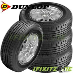 4 New Dunlop Grandtrek Touring A/s P235/55r19 101v M+s Rated All Season Tires