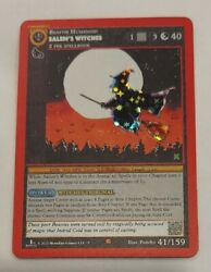 2020 Metazoo Salemand039s Witches Kickstarter Reverse Holo 1st Edition 41/159