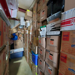 Storage Locker Contents Of A Coin Shop-stamps,coin Supplies,stamp Supplies