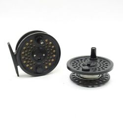 Scientific Anglers 456 Fly Fishing Reel. Made In England. W/ Spare Spool.