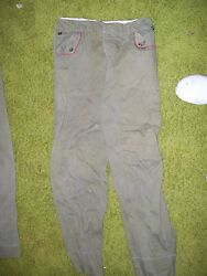 Vintage Boy Scout Pants With Coin Zipper Pocket
