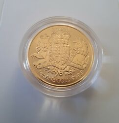 1oz The Royal Arms Gold Coin 2020 £100 Uk Bullion - Coat Of Arms Queen's Beasts