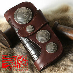 Redmoon Red Moon Long Wallet Leather Razor Rm-cms-mscd Mens Manand039s Thing Genuine