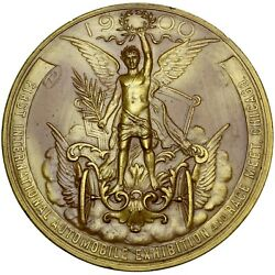 Chicago Illinois 1st Intand039l Automobile Expo 1900 Gilt Bronze 1st Prize Medal