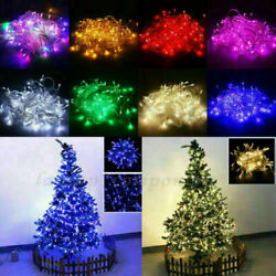 33-330ft Led Christmas Fairy String Lights Outdoor Indoor Xmas Party Lamp Decor