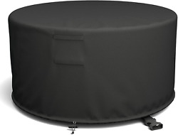 Shinestar 50and039and039 Round Fire Pit Cover Fits Wood Burning Firepit Fire Pit Grill