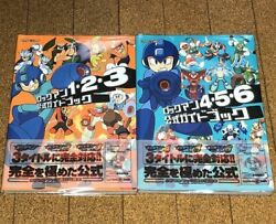 Ps Rockman Official Guidebook First Edition Obi Postcard With Onions Strategy