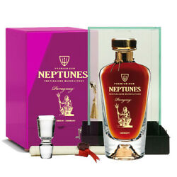 Neptunes Paraguay Rum Collection 70cl 40 Acryl Box Crystal Decanter Paraguay