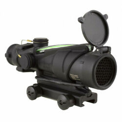 Acog 4x32 Army Rifle Combat Optic For The M150 With Green Illumination And Ta51