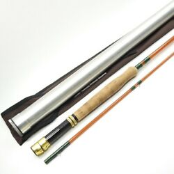 Lamiglas S-glass Fiberglass Fly Rod. 9and039 8wt. Made In Usa.