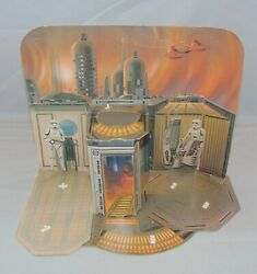 Vintage Star Wars Empire Strikes Back Cloud City Playset Sears Exclusive W/pegs