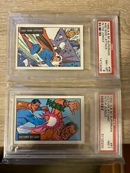 1968 A And Bc Superman And Now Attack In The Jungle Psa 7 And 8