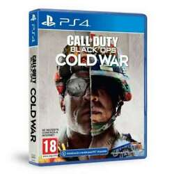 Call Of Duty Black Ops Cold War Sony Playstation 4 2020