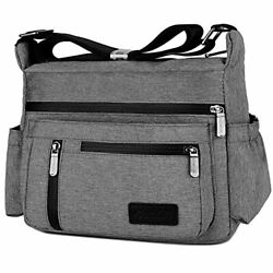 Crossbody Bags Women Travel Purses And Handbags With Lots Of Pockets A Grey $33.03