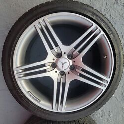 Sl63 Wheels Ome. Set Of 4 Wheels And Tires. 19 Inch Original Wheel And Tire Size