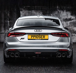 Private Number Plate Poser Big Boss Toy Bmw Amg Audi Gtr St Funny Pp10 Ser