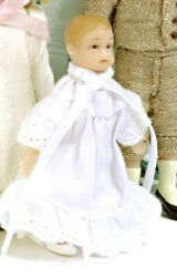 Doll Merry Meeting Truly Collectible Dollhouse Victorian Baby Drummond Sd0006