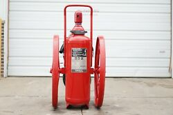 Ansul Red Line 150 Lb. Dry Chemical Wheeled Fire Extinguisher Amerex Sentry