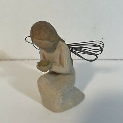 """Willow Tree - """"angel Of Miracles """", Gorgeous Sculpted Figure, Susan Lordi Euc"""
