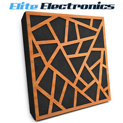 Elite Sound Acoustics Panel 50mm Foam For Home Theaters Skyros Cherry