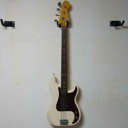 Fender Precision Bass Electric Bass White Safe Shipping From Japan