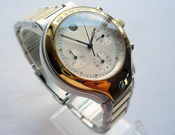 Rare Bmw Classic M Style Power Motorsport Racing Car Accessory Chronograph Watch