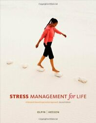 Stress Management For Life With Premium Web Site By Michael Olpin And Margie Vg