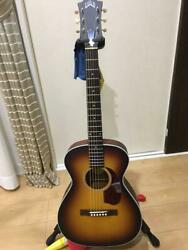 Guild M40e Acoustic Electric Guitar With Hard Case Safe Shipping From Japan
