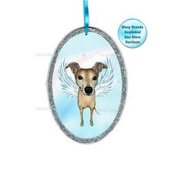 Greyhound Angel Ornament Dog With Wings Christmas Ornament Pet Memorial