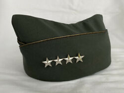 Us Army Military General Officers Garrison Oversees Dress Hat Cap
