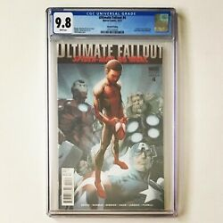 Ultimate Fallout 4 Cgc 9.8 2nd Print Marvel 1st App Miles Morales Spiderman 2011