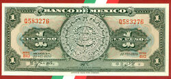 Mexico  1970  1 Peso  World Paper Money Banknotes Currency  Bio 276