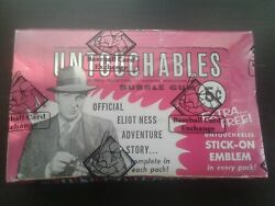 1962, Leaf, The Untouchables, 24 Pack, Wax Box, Bbce Certified, Ultra Rare