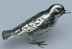 A Victorian Silver Bird Pepper Pot By James Barclay Hennell Made London 1879
