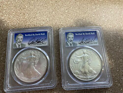 David Hall Pcgs Coin Collection