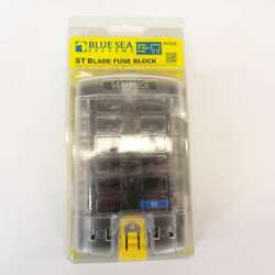 Blue Sea Systems 5029 - 1a To 30a St Blade 12 Circuit Fuse Block With Cover