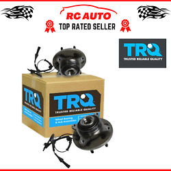 Trq Front Wheel Bearing And Hub Assembly Pair 2 Lh Rh Fits F150 Pickup Truck New