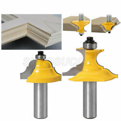 1/2 12mm Shank Wainscoting Roman Ogee And Pedestal Router Bit Tipped Cutting Tool