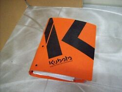 Genuine Kubota Nos Workshop Manual M100x Tractor And Others See Picture