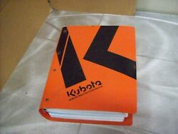 Genuine Kubota Nos Workshop Manual Tg1860 Lawn Tractor And Others See Picture