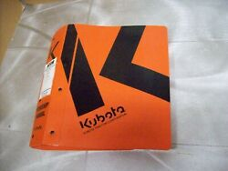 Genuine Kubota Nos Workshop Manual B2630 Tractor And Others See Picture