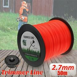 Square Brushcutter Strimmers Trimmers Cord Line Wire 2.7mm Replacement For Stihl