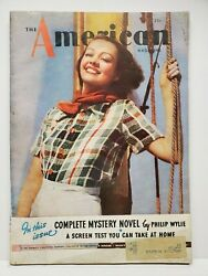 The American Magazine July 1936 Vintage Articles Short Stories Fiction Ads