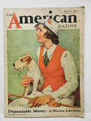 The American Magazine July 1933 Vintage Articles Short Stories Fiction Ads