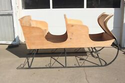 Old Horse Drawn Sleigh Buggy Wagon Carriage Cart