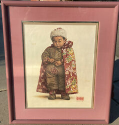 James Bama Boy From Chengdu 1988 Artist Proof Stamped
