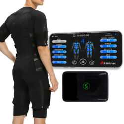 Portable Indoor Ems Fitness Muscle Stimulator Fat Reduction Body Sculpting Suit