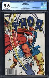 Thor 1983 337 Cgc 9.6 Wp Nm Newsstand - 1st Beta Ray Bill - White Pages