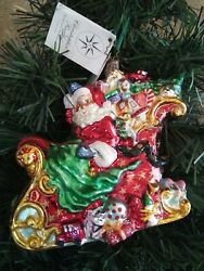 Christopher Radko Sumptuous Sleighful. Royal Star Ornament 162 Of 500.